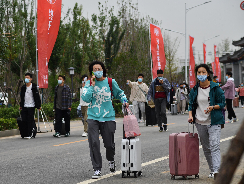 新生、新校、新河大,河南大学郑州校区迎来第一批新生
