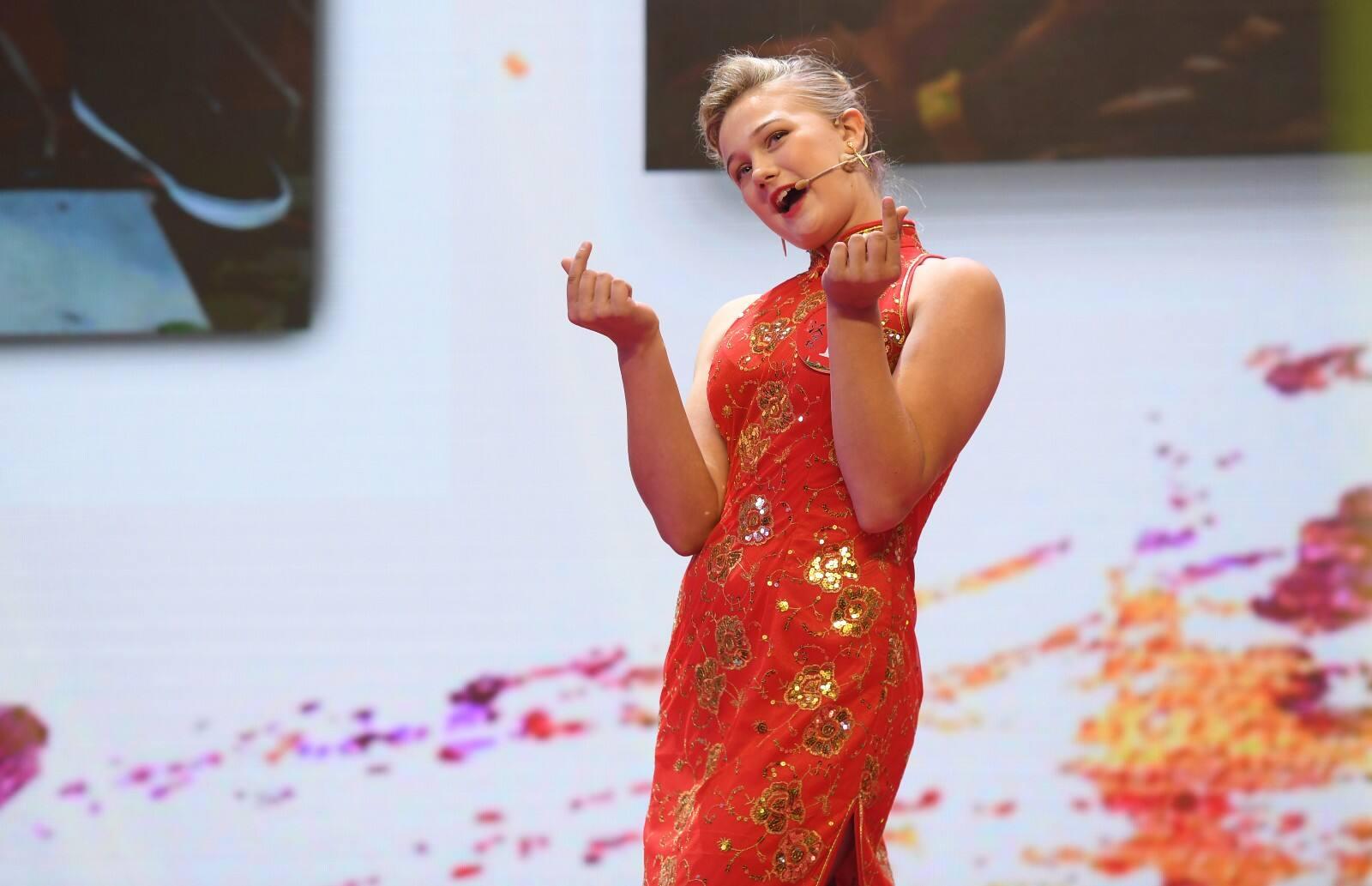 汉语为桥,一个美国女孩的郑州之旅